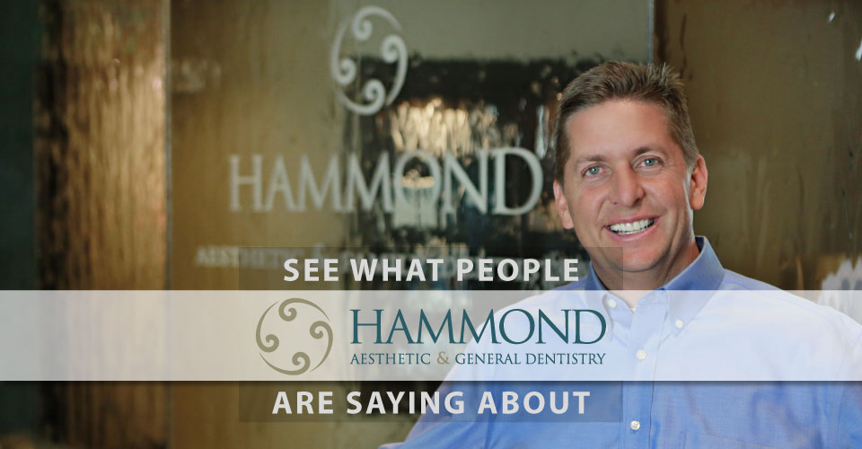 Dr. Chris Hammond provides cosmetic dentistry in Provo and Utah County
